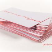 Пластиковые карты и визитки из цветного пластика