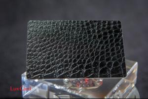 Пластиковые карты с фактурной поверхностью - образец